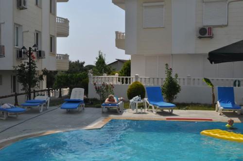 Lejlighed med hav udsigt og pool – strand 400 m / Tyrkiet