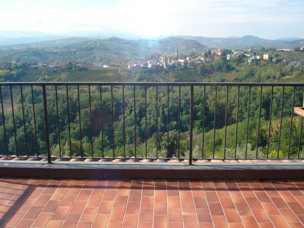 Udsigten fra balkonen