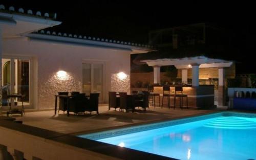 Luksus villa i Spanien med fantastisk udsigt over middelhavet