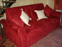 Sovesofa i stuen