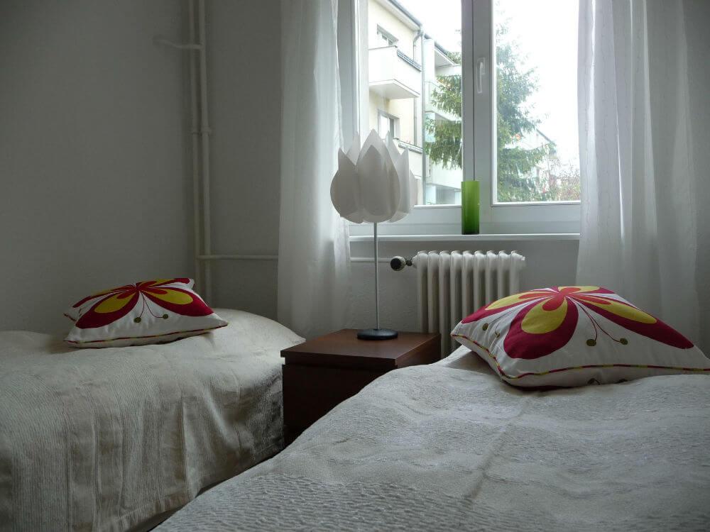 Sådan ser det lille soveværelse