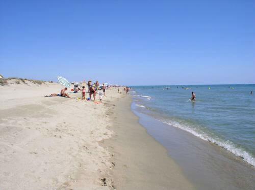 Strandene ved Le Barcares