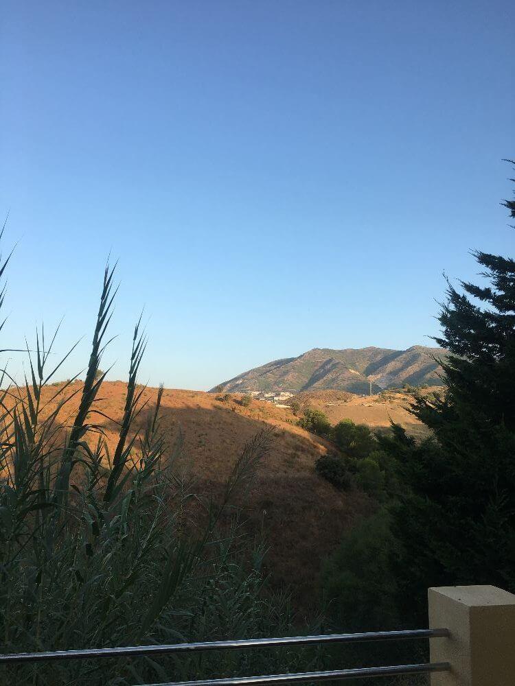 Villa i Spanien - udsigt