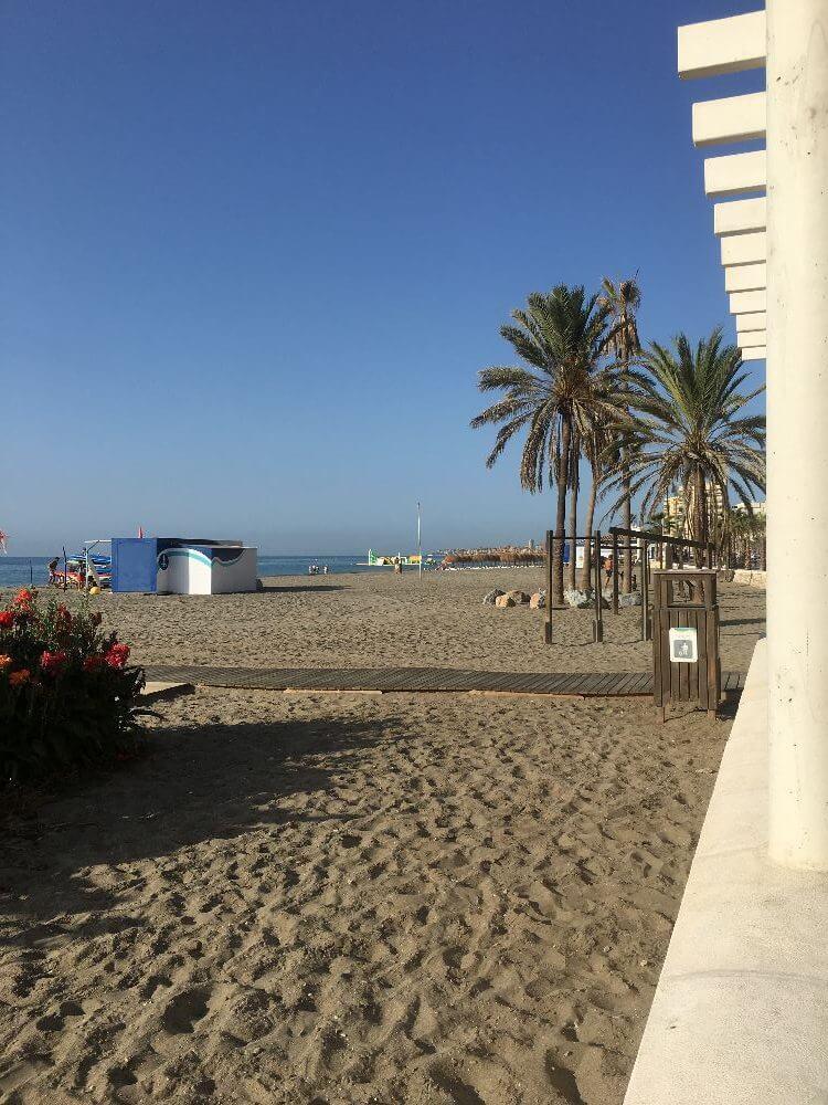 Villa i Spanien - strand