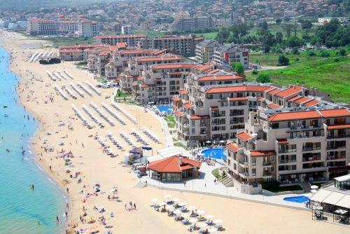 Strandlejlighed på 4 stjernet Resort i Bulgarien