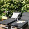 Liggestole på terrassen