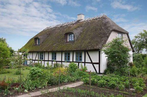 Romantisk bondehus på Lolland