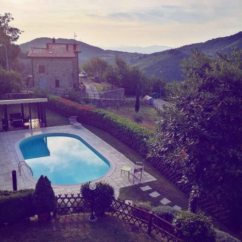 Privat villa med swimmingpool