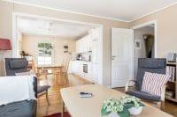 Køkken og stue i grund plan